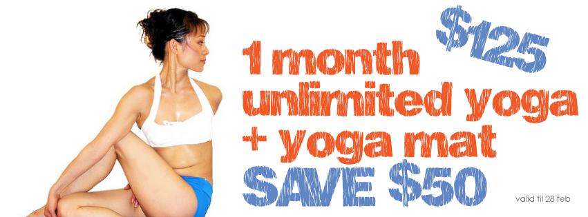 1 month hot yoga deal