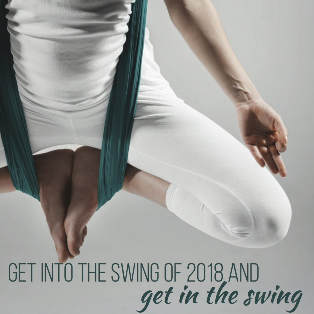 get into the swing